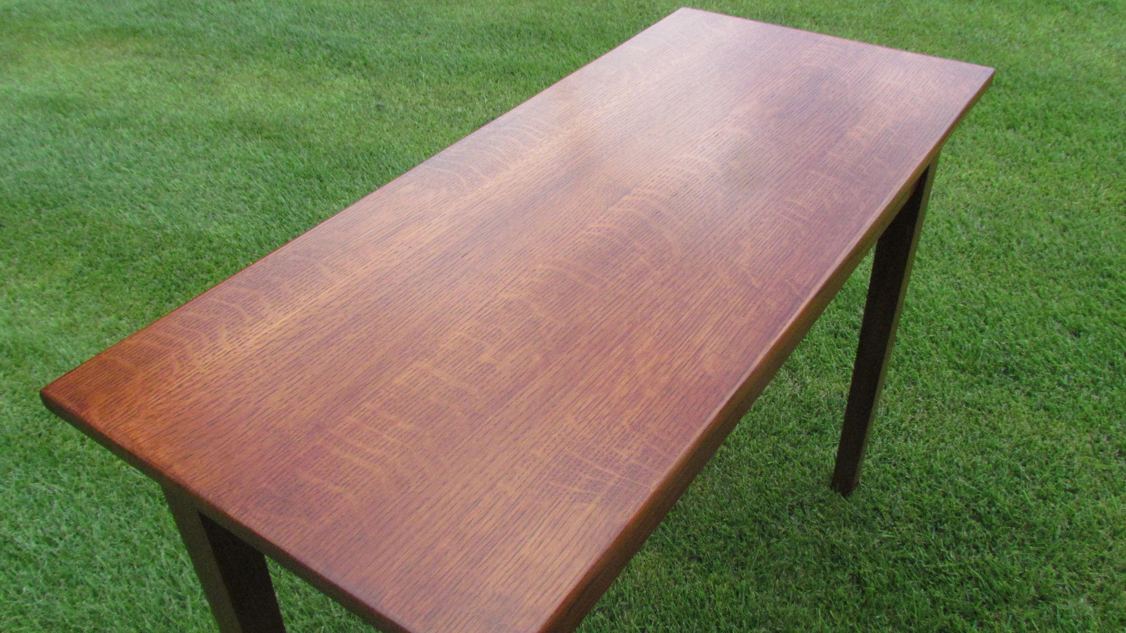 Oak Table Top. Quarter Sawn ...